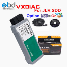 2017 High Quality VXDIAG VCX NANO For Jaguar For Land Rover VXDIAG Diagnostic Scanner Support Diesel And Gasoline Cars Free Ship