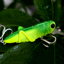 Fishing Tackle Lure Minnow Bass Insect Grasshopper Freshwater Hard Baits Crankbait 4.5cm/3.5g Hook Fishing Accessories