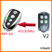 Duplicator V2(TRC4 Contr.47) 433mhz rolling code remote control for garage door