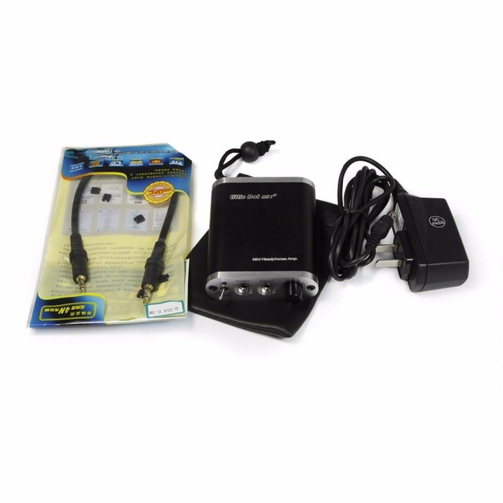 Little Dot MK1 MKI+ Portable Headphone Amplifier LME49710HA Mini Amp LME49600TS Gold Seal Version New Arrival