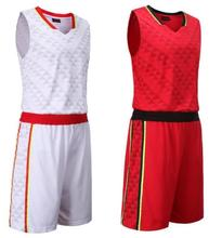 Throwback Sports Jersey and Shorts Uniforms Sportswear Training Basketball Sets Sleeveless