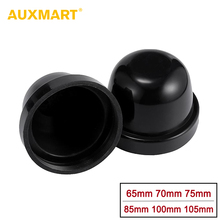 AUXMART 2pcs HID LED Headlight Car Dust Cover Waterproof Dustproof Sealing Headlamp Cover Cap 65mm 70mm 75mm 85mm 100mm 105mm(China)