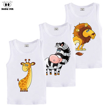 DMDM PIG Summer Kids Children's Clothing 3D T Shirt Baby Boy Girl Clothes T-Shirt Teens T-Shirts For Boys Girls 8 years Tshirt(China)