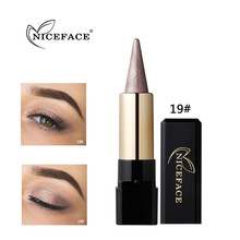 Best Deal New NICEFACE Women Beauty Waterproof Eye Shadow Cream Eye Liner Eye Shadow Gel Makeup Tools(China)
