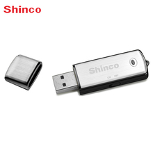 Shinco RV09 Mini 16GB Disk MP3 Disk Recording Pen Dictaphone MP3 Player Audio Recorder Digital Voice Recorder(China)