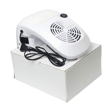 Wholesale Excellent 6pcs EU/US/UK/AU Plug 60W Nail Dust Collector With Fan Dust Suction Strong 110V-220V Manicure Tool Equipment