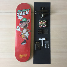Complete Skateboards Set Private Deck Ruckus Trucks Element Wheels ABEC-3 Bearings Plus Hardware Set Riser Pad & Installing Tool