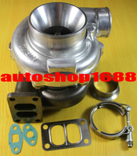 T70-1 GT35 GT3582 a/r.70 housing a/r.84 T3 360 degree thrust Journal bearing just oil cooled 400-500hp turbo turbocharger(China)