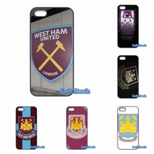 For Apple iPhone 4 4S 5 5S 5C SE 6 6S 7 Plus 4.7 5.5 iPod Touch 4 5 6 West Ham United FC logo Case Cover