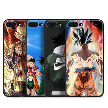 Dragon Ball Z DBZ Goku Tpu Soft Silicone Phone Case Cover Shell For Apple iPhone 5 5S SE 6 6S 6Plus 6sPlus 7 7Plus 8 8Plus X(China)