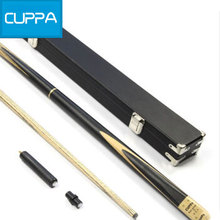 High Quality Cuppa Maple 3/4 Snooker Cues Stick 9.8mm Tip With Snooker Cue Case Set 3 Options China 2016(China)