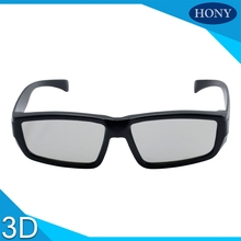 1pcs Free Shipping 45/135 0/90 Degree Linear 3D polarized glasses plastic for Imax cinema system,3D Glasses Linear Polarized(China)