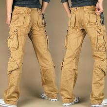 2017 New style Women's Cargo Pants Leisure loose Trousers more Pocket pants Hip-hop pants(China)