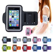 For iphone SE Adjustable SPORT GYM Armband Bag Case for apple iPhone 5 5S 5C Waterproof Jogging Arm Band Mobile Phone Belt Cover