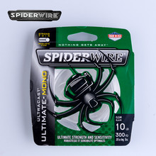 Spiderwire Ultracast 300m/329yd Nylon Fishing Line Monofilament Fishing Wire Strong Thin Fishing Tackle String Reel Lines 4-20LB(China)