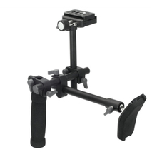 DSLR Handle Shoulder Support Rig shoulder support stabilizer rig quick release plate for A7 R A7II Digital video Camera DVD