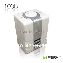 MFRESH Hot Selling Portable Personal Air Cleaner/Purifier/Ionizer YL-100B 2pcs/lot + Free Shipping(China)