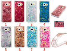 Luxury Sparkle Diamond Glitter Star Flowing Liquid Case for Samsung GALAXY A3 A5 J3 J5 J7 Prime 2015/2016/2017 TPU Phone Cases
