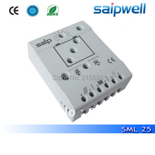 30% shipping cost ! Saipwell good quality high voltage solar charge collector controller 12V 25a SML25(China)