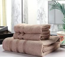 New 100% Bamboo Bath Beach Hand Brand Towels Set for Adults 1PC 70*140CM Bathroom 2PCS 34*76CM Face Towels