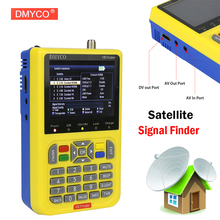 DMYCO V8 Finder DVB-S2 DVB-S FTA Digital Satellite SatFinder Meter HD Satellite Finder Tool TFT LCD Sat Finder lnb Signal Meter(China)