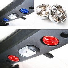 Newest Roof Top Knob Switch Trim Cover Interior Accessories ABS For Jeep Wrangler jk 2007 Up