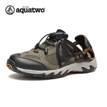 AQUATWO Men Latest Outdoor Wading Shoes Fast Dry Upstream Shoes Breathable Water Shoes Wholesale HDS-102260 Shoes Men's