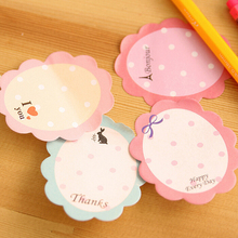 20 Pages Flower Sticker Cute Scrapbooking Stickers Stationary Japanese Memo Pads Gift Note Pad Goods Kids School Office Supplies
