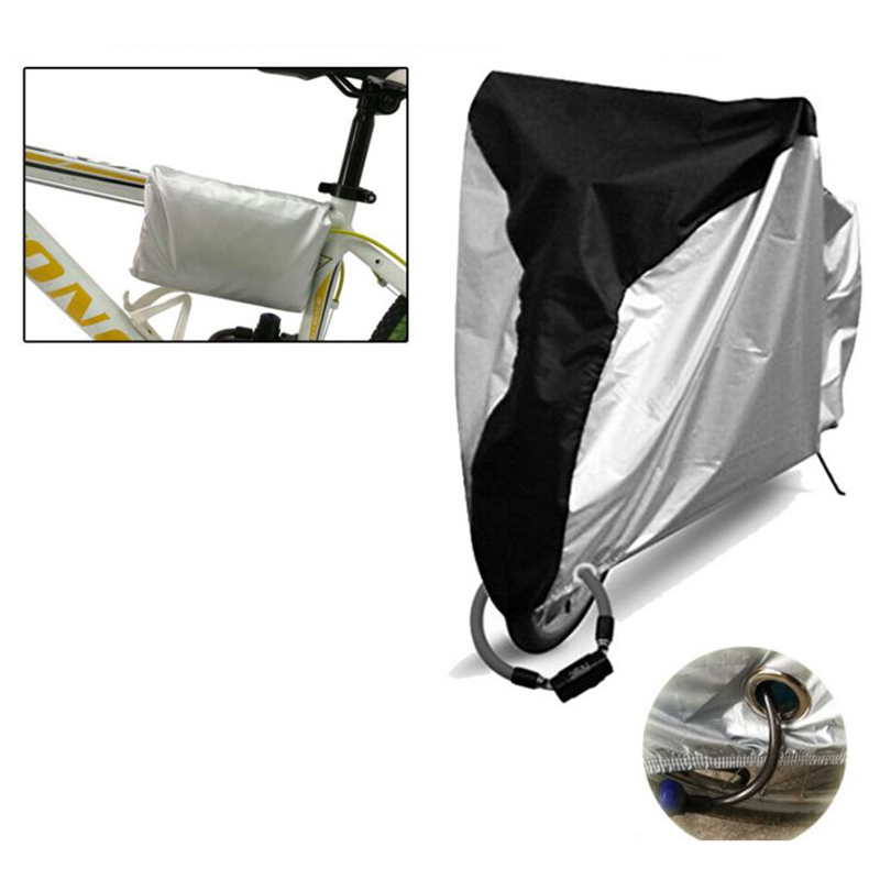 Electric vehicle Bike Rain Dust Cover Waterproof Outdoor Scooter Protector For biker Bicycle Utility Cycling Bicycle Protector(China)