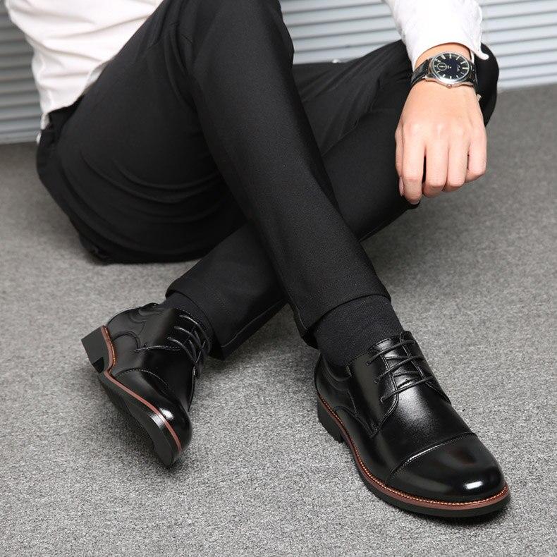احذية جلدية رجالي لينة عالية الجودة  الحجم 39-48 11