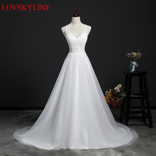 Buy Real Images Vestido De Novia Tulle Wedding Dress 2018 Lace Backless Bridal Dresses Robe de Marriage banquet Wedding Gowns for $63.30 in AliExpress store