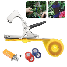 Vine Branch Plant Hand Tying Tape Tool Tie Stapler Plant Fruit Nursery Prune Garden Packing Pruning Tools+10pcs Tapes Mayitr