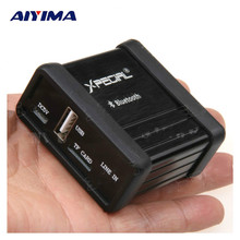 AIYIMA Bluetooth Receiver Audio Receiver Box USB TF Card Decoding Bluetooth Audio Pre Output