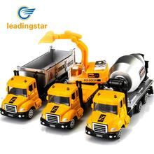 LeadingStar Simulate Force-Control Alloy Engineering Vehicle Model Creative Kids' Toy Christmas New Year Birthday Gift ZK20(China)