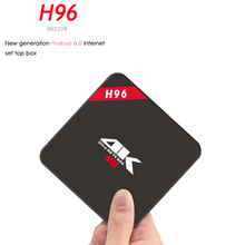 H96 Android TV BOX IPTV Free 1 Year RK3229 28nm Quad Core Cortex A7 Android 6.0 Set Top Box 4K Display H.265 HDMI Output TV BOX(China)