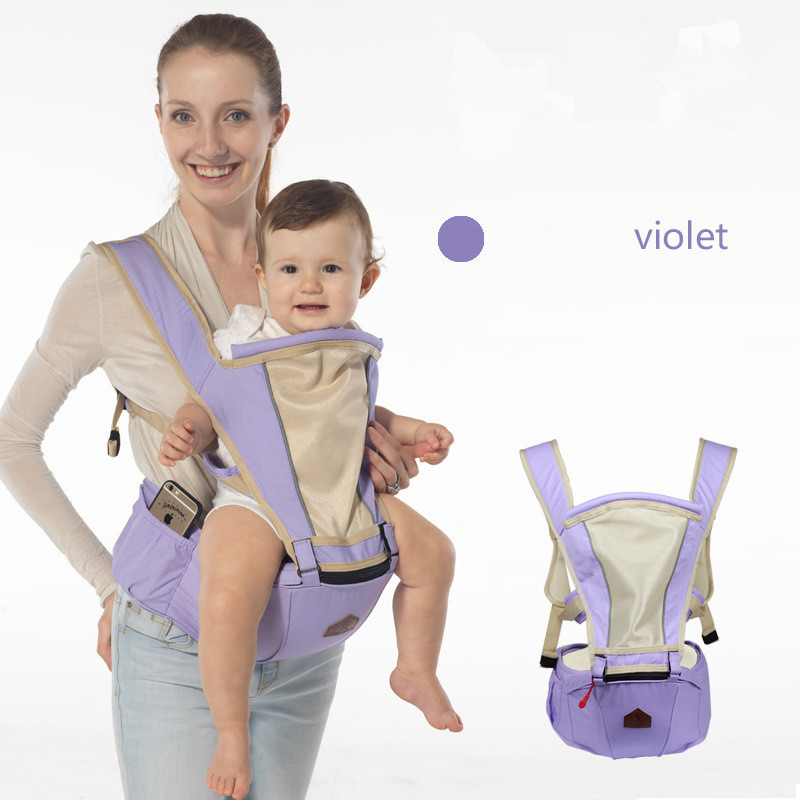 Breathable Adjustable Baby Carriers Ergonomic Toddler Backpack Baby Wrap Backpack Portable Backpacks Baby Sling<br>
