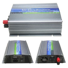 600W On Grid Tie Solar Power Inverter 10.5V~28V DC to AC110V or 220V Pure Sine Wave Micro Inverter for 600~720W 18V PV Module