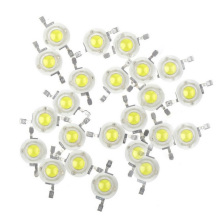 50pcs/LOT 3W Warm Natural Cool White 3500K 4500K 6500K 15000K LED Bead diodes light lamp part