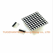 10pcs MAX7219 dot matrix module microcontroller module DIY KIT