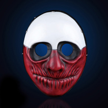H&D Resin Payday 2 Masks The Heist Wolf Cosplay Mask Helmet Accessories for Fancy Dress Costume Classical Version