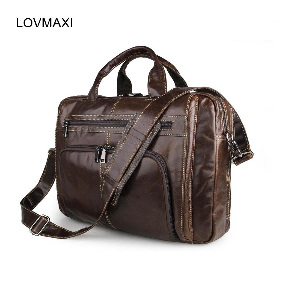 European and American popular leather Men business handbags Male leather Briefcase Vintage shoulder bags messenger bag for men<br><br>Aliexpress