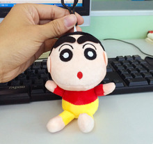 New Anime Crayon Shin-Chan Nano Doll Plush Toy Pendant Anime Figure Baby Toy Creative Gift For Girlfriend