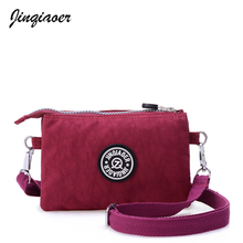 Women Messenger Bag Waterproof Nylon Day Clutchs Purse Casual Small Shoulder Bag For Girl Female Tote Handbags JQ070/q