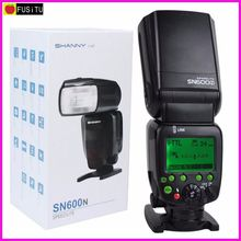 SHANNY SN600N GN62 (ISO100,200mm) on Camera Speedlite Flashgun Flash for Nikon i-TTL/M/RPT High-speed sync1/8000s(China)