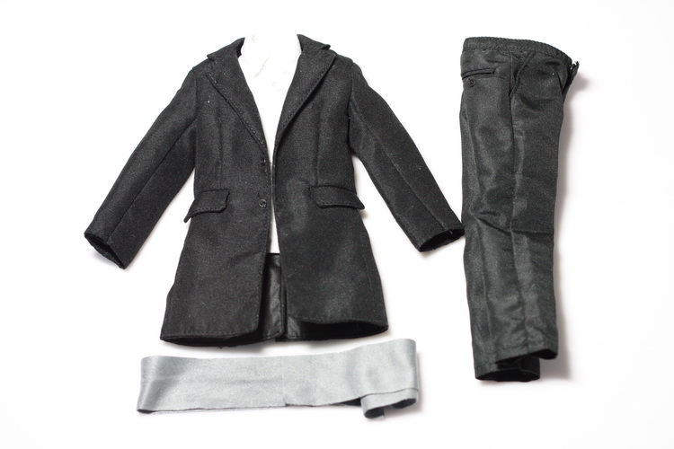 1:6 Scale male Figure Accessory clothes Suit jacket + trousers for 12 Action figure doll,not include doll and other 16B2837<br>