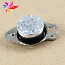 KSD301 85 C Normal Close NC Temperature Controlled Switch Thermostat 250V 10A-15(China)