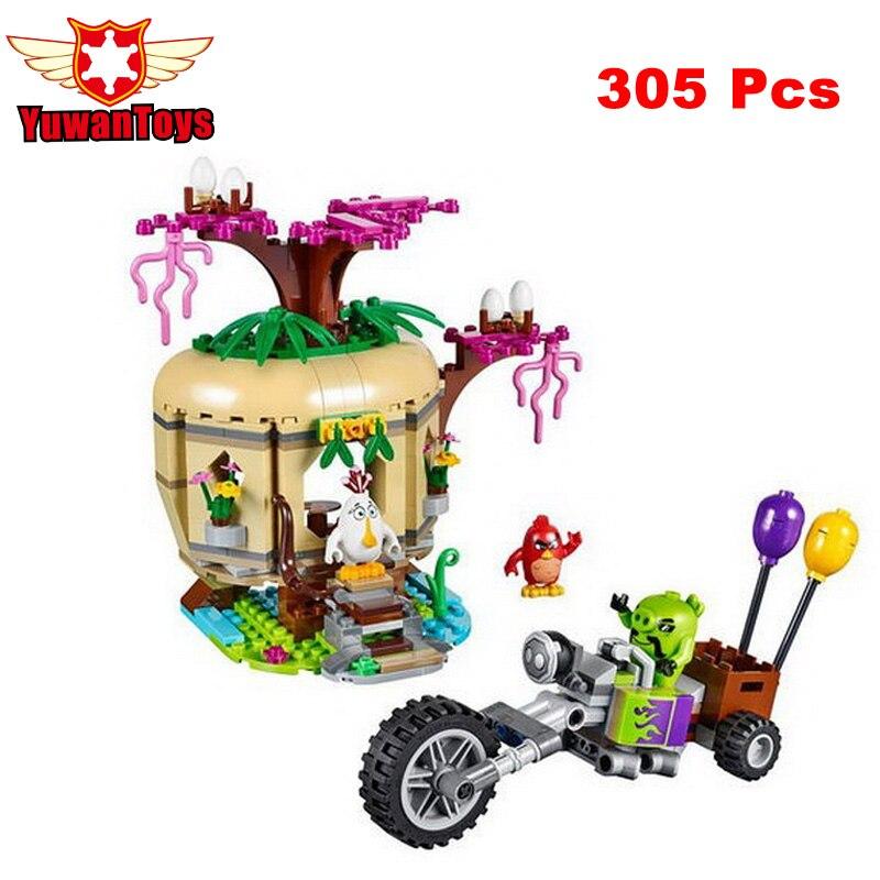 Crazy Birds Bird Island Egg Heist Trike Building Blocks Models Toy Children Best Gifts Toys Compatible With elieds LP19003<br><br>Aliexpress