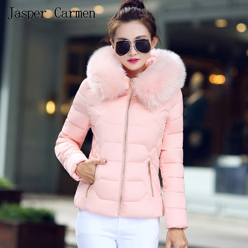 Free shipping 2017 Winter New Arrival Fashion Cotton Jacket Women Short Parkas Coats Female Outerwear Girl Overcoats 70hfxÎäåæäà è àêñåññóàðû<br><br>