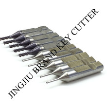 2mm carbide cutter and 1mm HSS tracer for Automatic V8/X6 key duplicating machines (10pcs/lot)