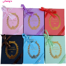 KC15 New Arrival Key chain France  Macarons Effiel Tower Keychains Wedding favors Gifts w Box Ribbon Handbag free shipping